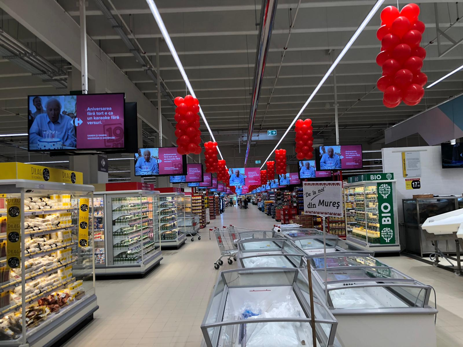 Case study: How Carrefour is using Spectro:o Digital Signage  to improve in-store visual communication