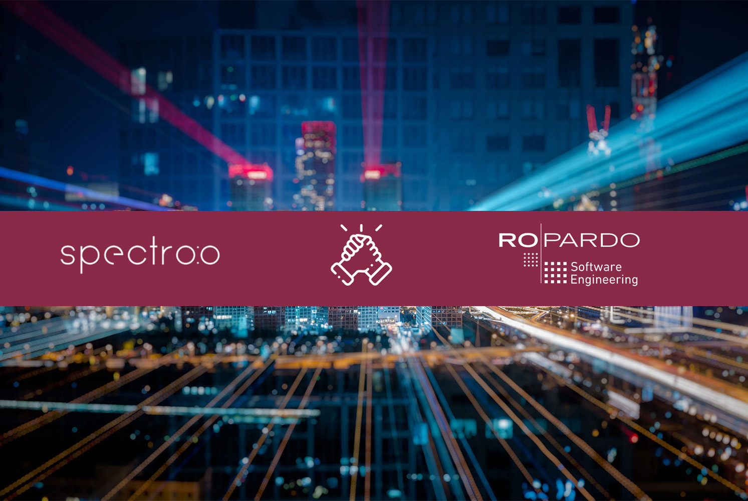 Spectro:o and Ropardo – Technical Partnership for Digital Transformation